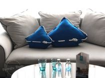 Yachts Pillows in Hanza Hotel